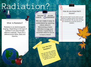 Radiation- Science Term 4