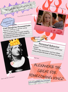 Anti-Alexander the Great's Homecoming Poster