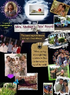 "Mrs.Mohan's ""ME"" Board2"