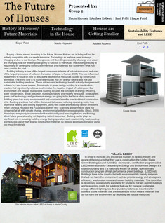 Future of Houses - Sustainability and LEED