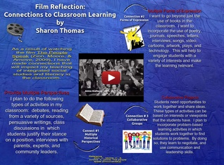 Film reflection: Connections to Classroom
