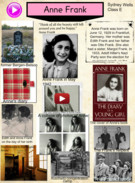 Sydney's Anne Frank project's thumbnail