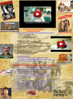 History project stalin women's rights and treatment of minorities