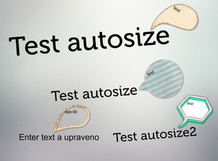autosize test and size