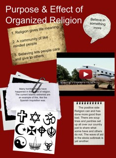 Purpose & Effect of Organized Religion