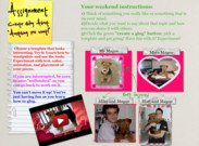 weekend assignment: Play with Glogster's thumbnail
