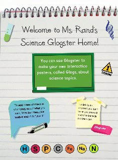Ms. Rand's Science Glogster Home