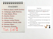 Itinerary : The End's thumbnail
