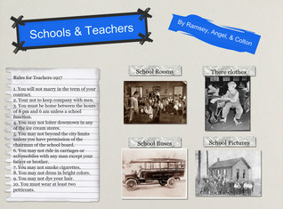 Schools & Teachers 1917 by Colton, Ramsey, and Angel
