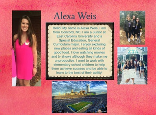 Alexa Weis-Introductory Post