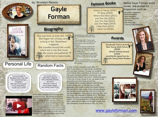 Biography of Gayle Forman - Brooklyn Ramon