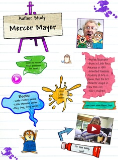 Author Study: Mercer Mayer