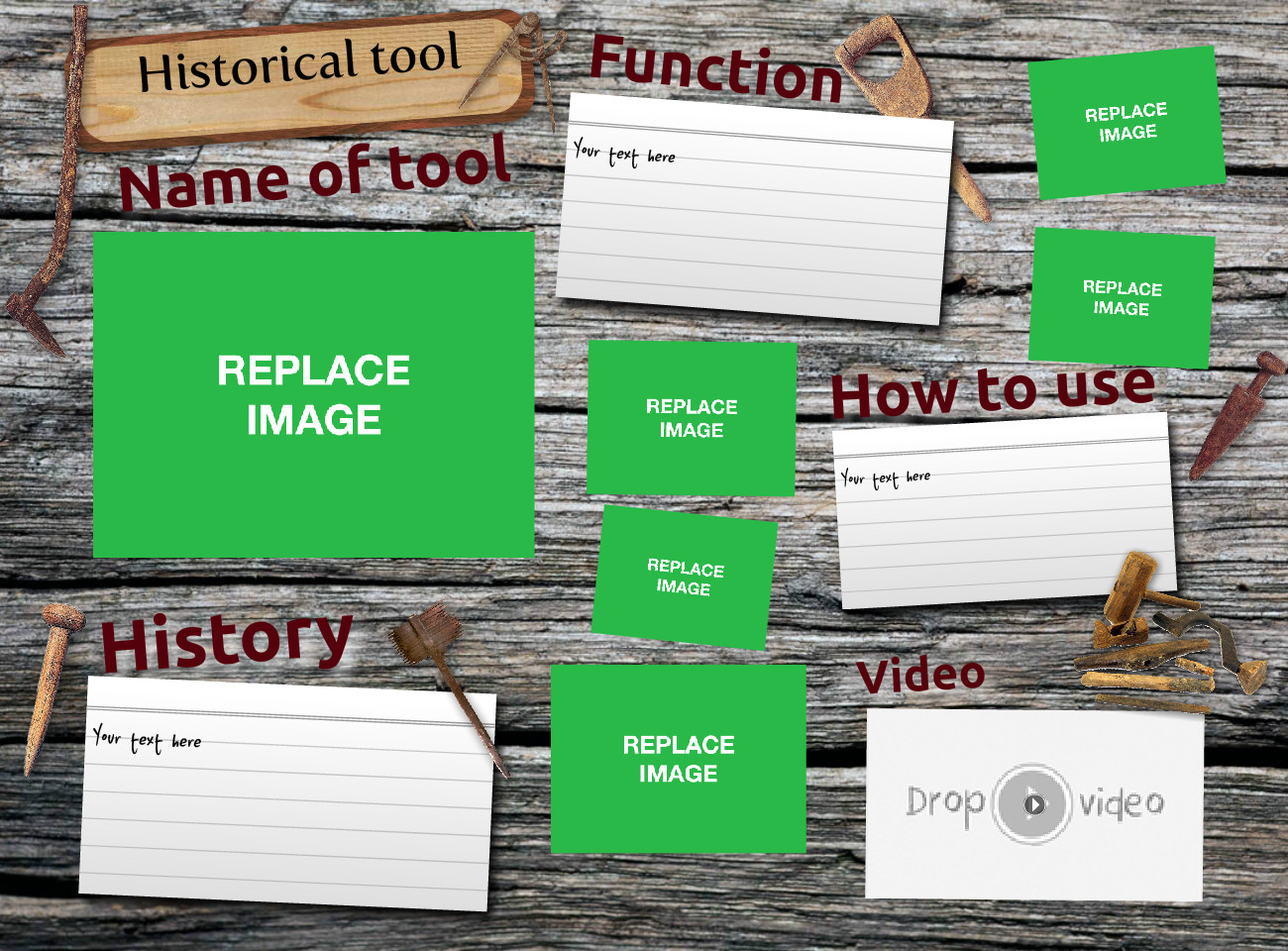 Historical tool