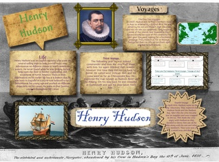 [2015] Amy Powlish: Henry Hudson