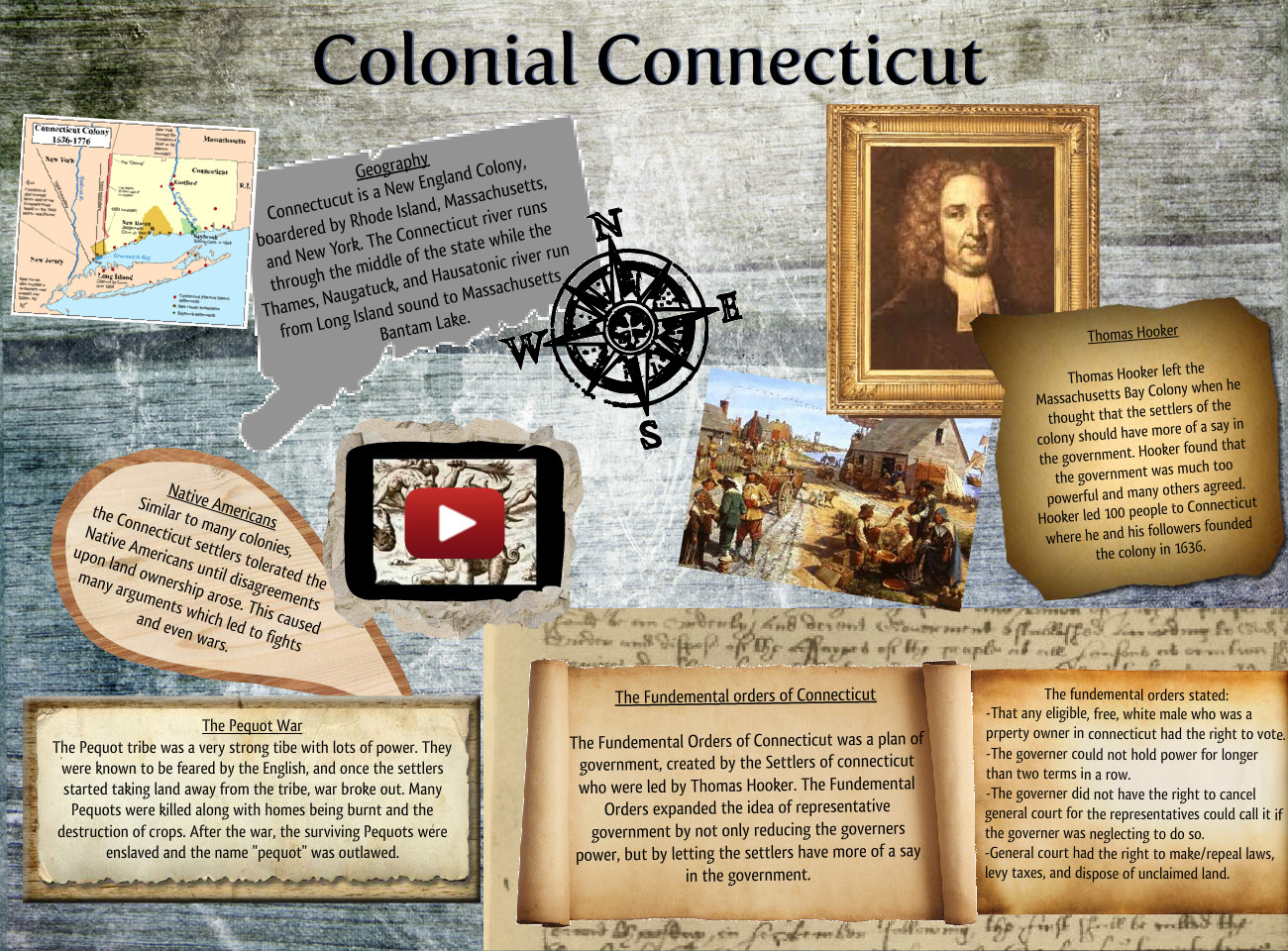 Colonial Connecticut america colonial connecticut eng history
