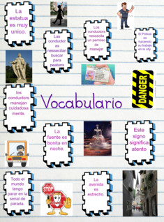 Vocab spanish 3b
