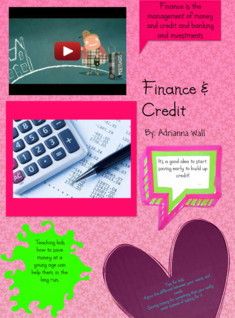 Finance and Credit