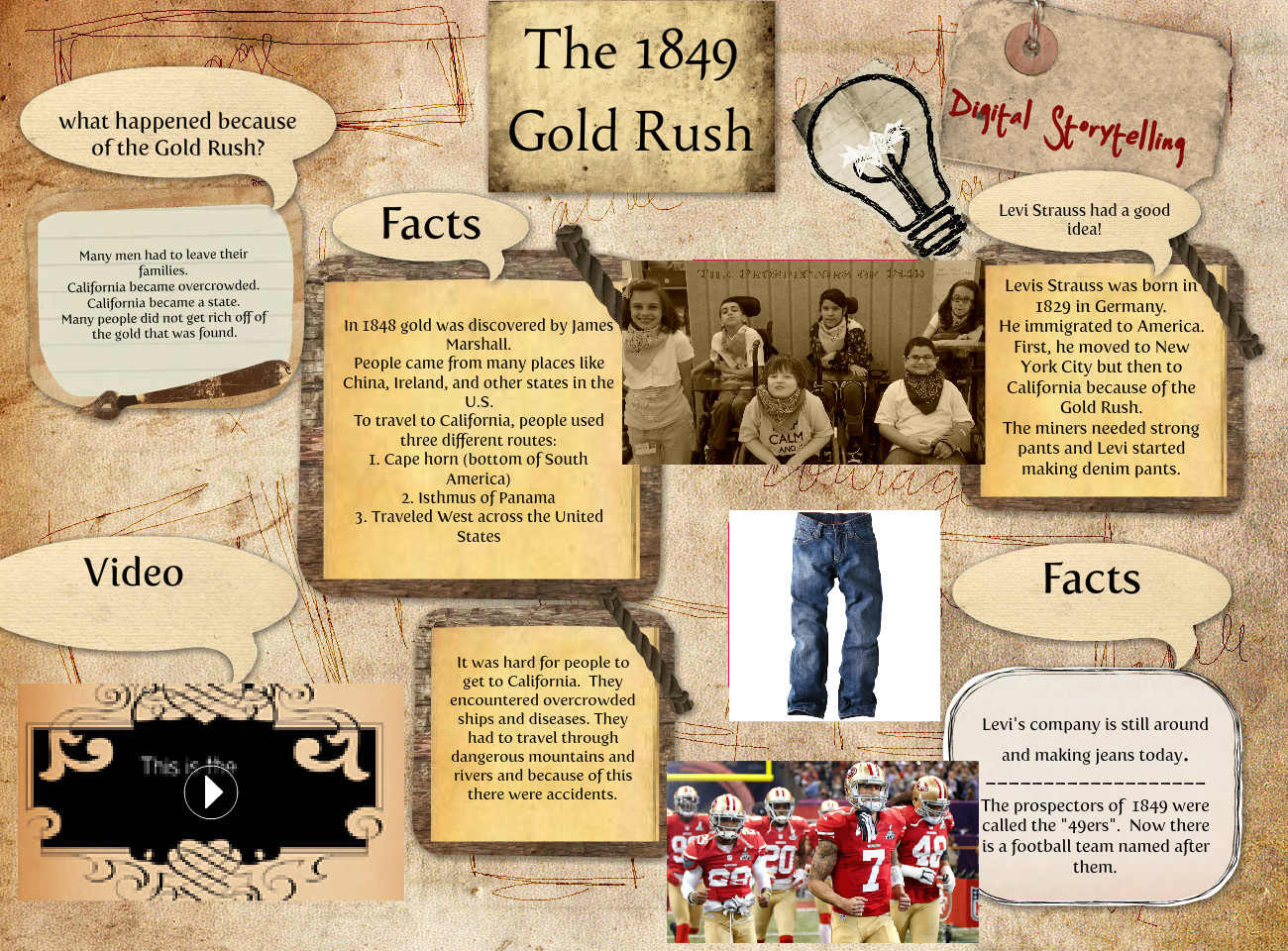 The 1849 Gold Rush