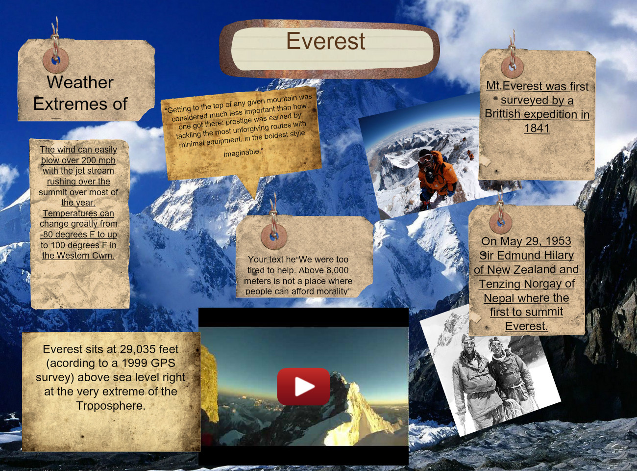 [2015] Mark Lindquist II: Everest