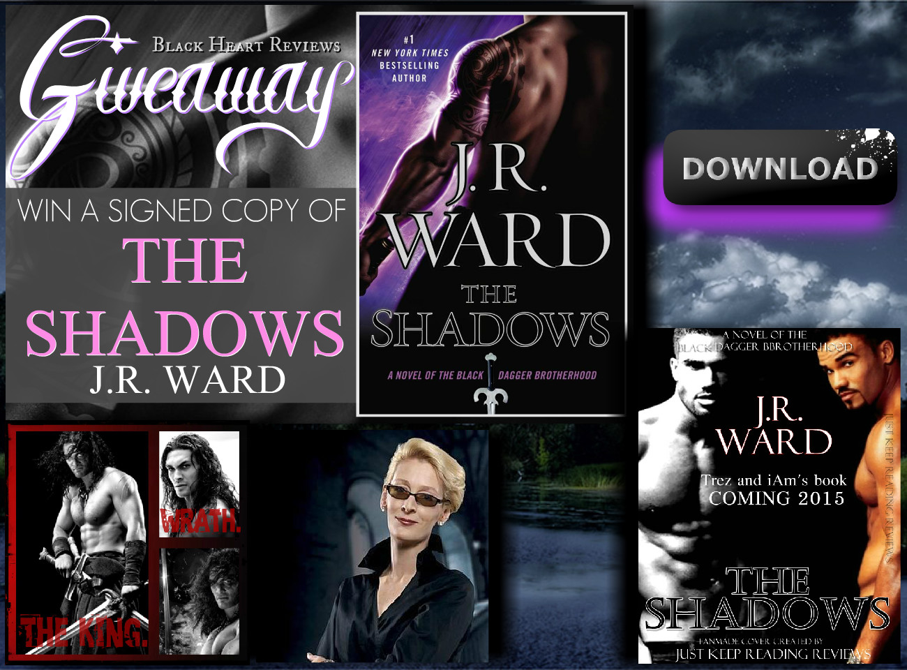 Download The Shadows A Novel Of The Black Dagger Brotherhood By J R