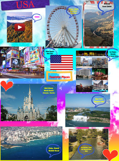 TOURISTIC PLACES USA