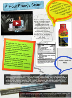 5 hour energy consumer project