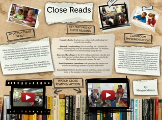 Close Reading by Meagen Minnix