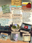 [2015] Aliana Diaz (6th Grade 15-16): Claude Monet's thumbnail