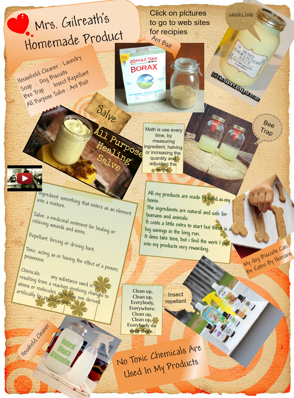 Homemade Products