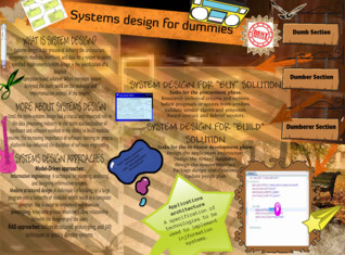 Systems design methods for dummies