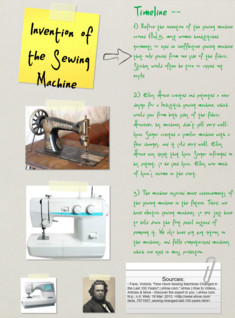Invention of the Sewing Machine