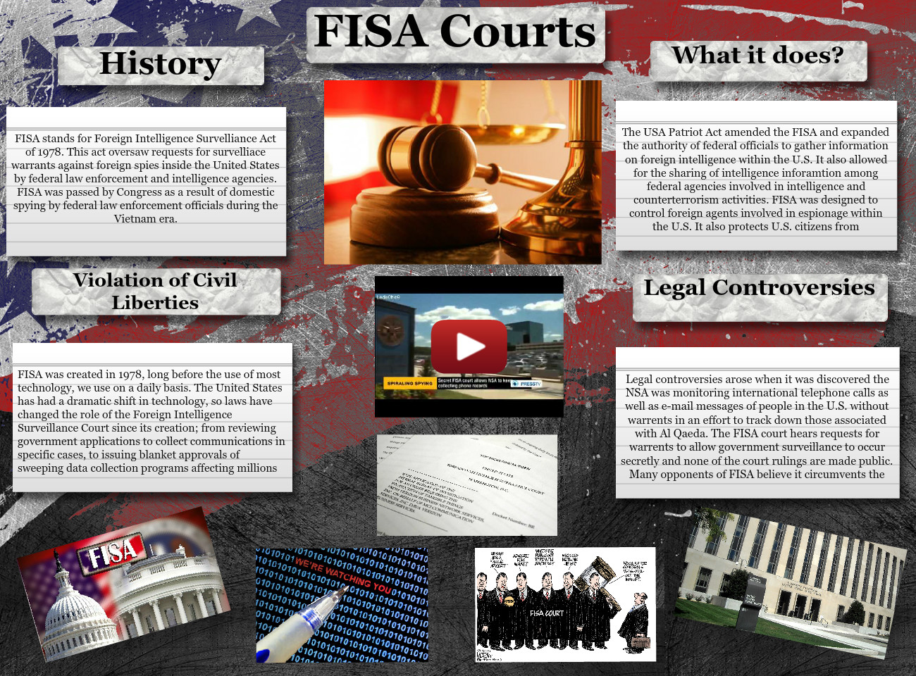 [2015] stephanie vaughan: FISA Courts