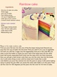 Rainbow cake project thumbnail