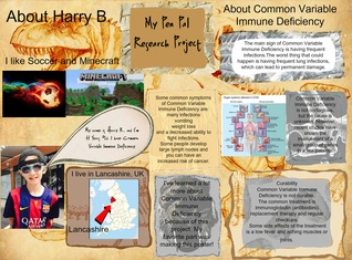 Harry B and Common Variable Immune Deficiency