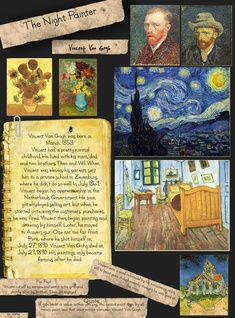 The Night Painter: Vincent Van Gogh