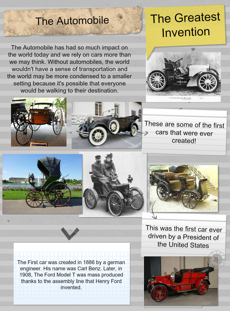 The Greatest Invention in the World - The Automobile: automobile ...