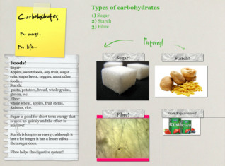 Jacksons carbohydrate poster, do not count this late I was absent