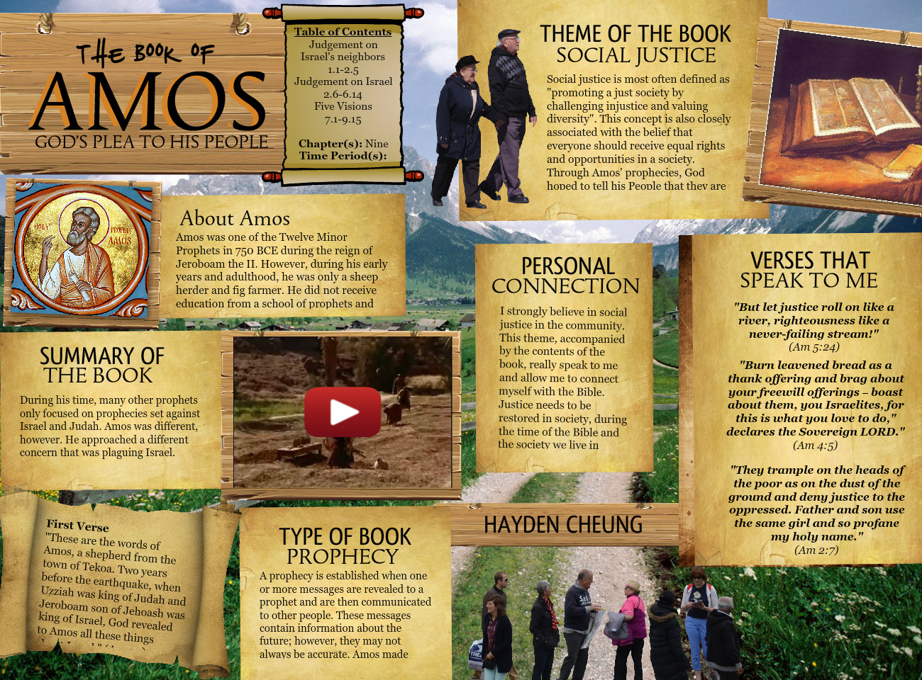 a brief review of the book of amos about the oppression of the poor The author of the book of amos is literature review service and that it fed on injustice and on oppression of the poor amos' ministry takes.
