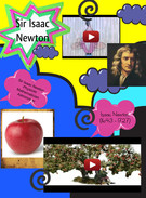 Famous Scientist Poster Sir Isaac Newton's thumbnail